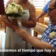 Repiten su boda en paliativos- -Quiero que tenga un recuerdo bonito-