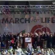 President Trump addresses 2018 March for Life [360p]