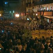 TRES CAIDAS TRIANA CAMPANA 2018_ SEMANA SANTA SEVILLA _MADRUGÁ [720p]