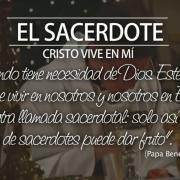 El sacerdote, Cristo vive en mí
