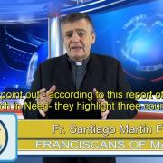 Commented News. Civil war and external harassment. Fr. Santiago Martín, FM