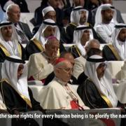 Pope Francis in the United Arab Emirates
