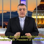 Commented News. Blaming the victims. Fr. Santiago Martín, FM