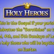 Cycle A_ Sunday Gospel Video, The 5th Sunday of Lent Scrutinies