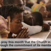 MAY 2019. The Church in Africa, a Seed of Unity
