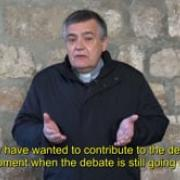 Commented News A matter of conscience Fr Santiago Martin, FM