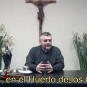 Jesús, en el Huerto de los Olivos