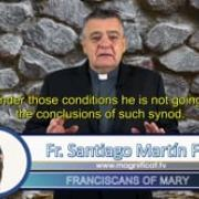 Commented News The beginning of the end Fr Santiago Martin, FM