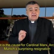 Commented News The Pope, in his place Fr Santiago Martin, FM