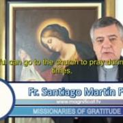 Commented News Time of oportunities Fr Santiago Martin, FM