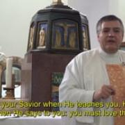 The Holy Land, with other eyes  4 Christ saves with his teaching