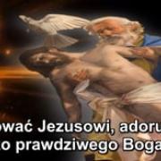 15. Dziękować Jezusowi, adorując Go jako prawdziwego Boga