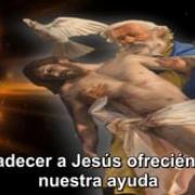 18. Agradecer a Jesús ofreciéndole nuestra ayuda