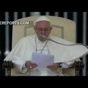 Papa en Audiencia General explica el amor de Dios con la parábola del Hijo Pródigo