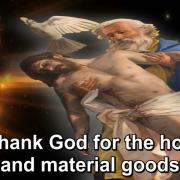 The Year of Gratitude | 48. To thank God for the house | Magnificat.tv