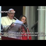 Las frases más contundentes del Papa Francisco contra la mafia
