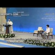 Papa a autoridades surcoreanas: El mundo está cansado de las guerras