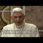 Discurso del Papa Benedicto al Papa Francisco