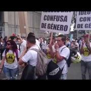 Marcha contra Imposición de la Ideología Género en Colombia - Bogotá