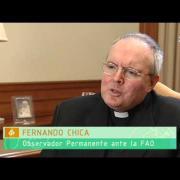 Iglesia contra el hambre y Fernando Chica, observador de la Santa Sede ante la FAO