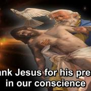 The Year of Gratitude | 30. To thank Jesus for his presence in our conscience