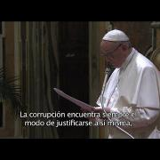 """Papa a Comisión Parlamentaria Antimafia: """"La corrupción es contagiosa y parasitaria"""""""