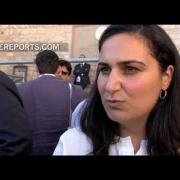 Yazidí que saludó al Papa en Asís: Estamos sufriendo un genocidio pero saldremos adelante