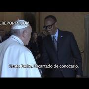 """El Papa pide perdón por """"los pecados"""" de la Iglesia durante el genocidio de Ruanda"""