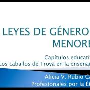 "Conferencia: ""Las leyes de adoctrinamiento sexual"""