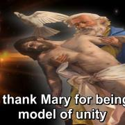 The Year of Gratitude | 38. To thank Mary for being a model of unity | Magnificat.tv