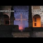 Guerra, pedofilia, migraciones: los temas del Vía Crucis del Coliseo