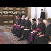 Francisco a Obispos Veterocatólicos: La reconciliación comienza por perdonar