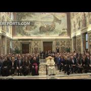 Francisco defiende a los pobres y marginados en el Global Forum 2016