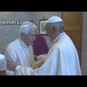 Georg Gänswein: Benedicto XVI ve a Francisco como alguien que refuerza la fe