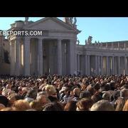 Multitudinario tango en el Vaticano para felicitar a Francisco por su cumpleaños