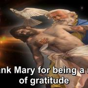 The Year of Gratitude | 37. To thank Mary for being a model of gratitude | Magnificat.tv